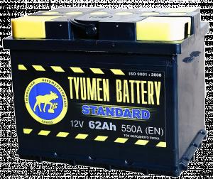 Тюмень  6СТ - 62 L Standard о/п