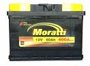 Аккумулятор Moratti 60 о/п низкий